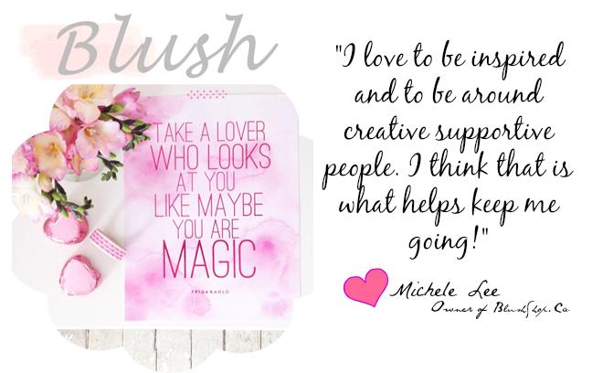 blush shop instagram