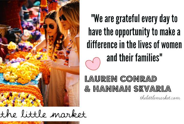 the little market lauren conrad and hannah skvarla