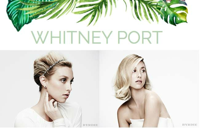 whitney port blog
