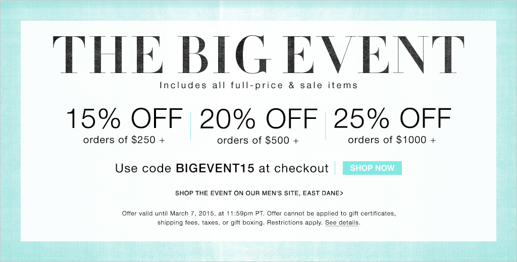 Bhldn coupons 2018
