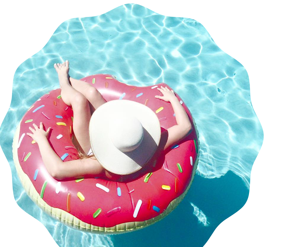 Summertime is  here! What better way to kick off summer than with the perfect Pool Floats? Chicago Lifestyle Blogger Happily Inspired is sharing her faves.