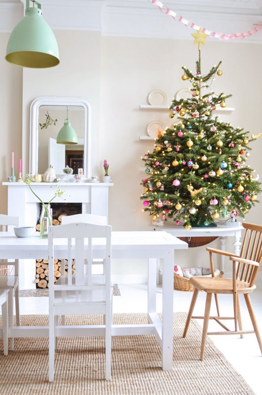 how to decorate for christmas at home