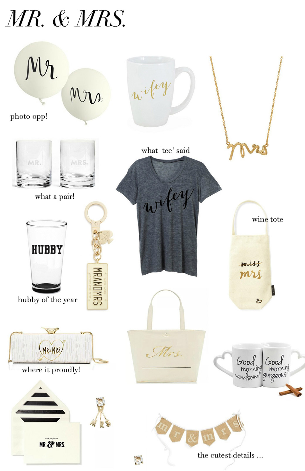 Wedding stop | his & hers gifts