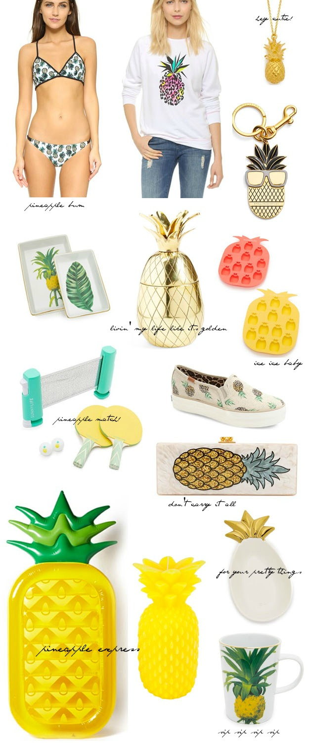 cute pineapple fashion