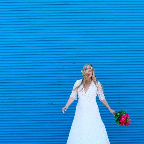 modcloth wedding dress