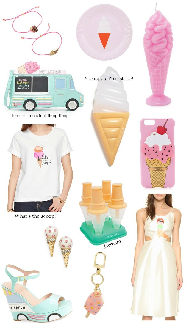 ice cream cone fashion