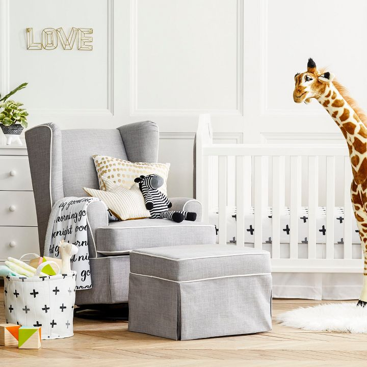 Chicago lifestyle blogger Happily Inspired shares Target's new nursery collection: cloud island target is a crowd pleaser. Floral fields to desert dreams.
