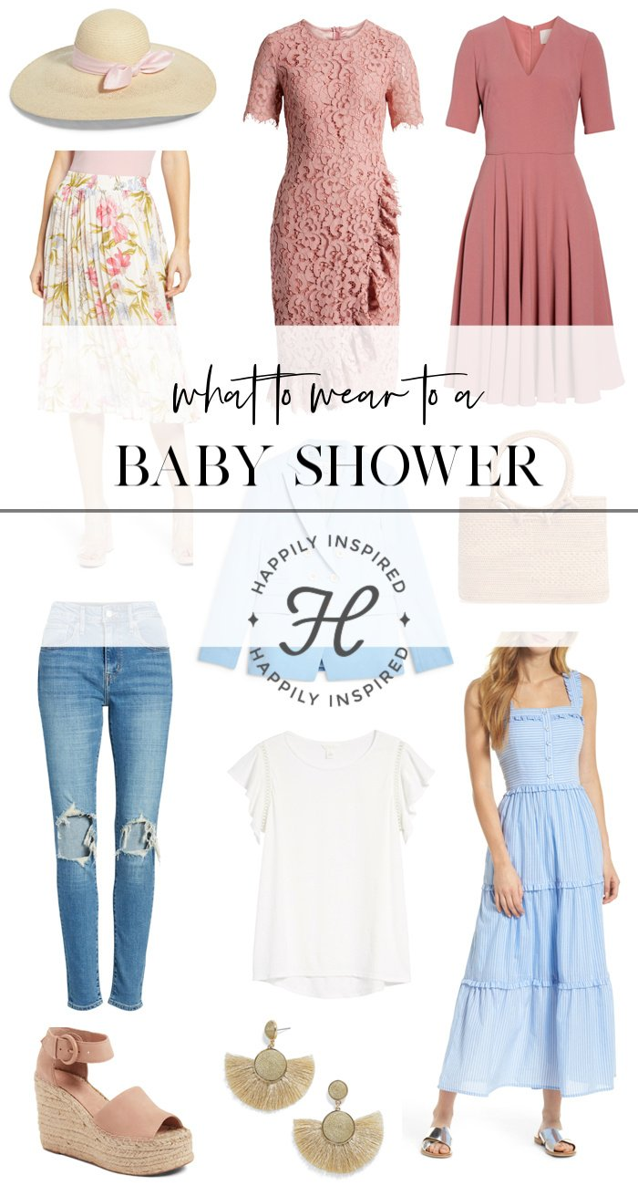 1c690f3c2133 What to Wear to a Baby Shower | Baby Shower Outfit Ideas