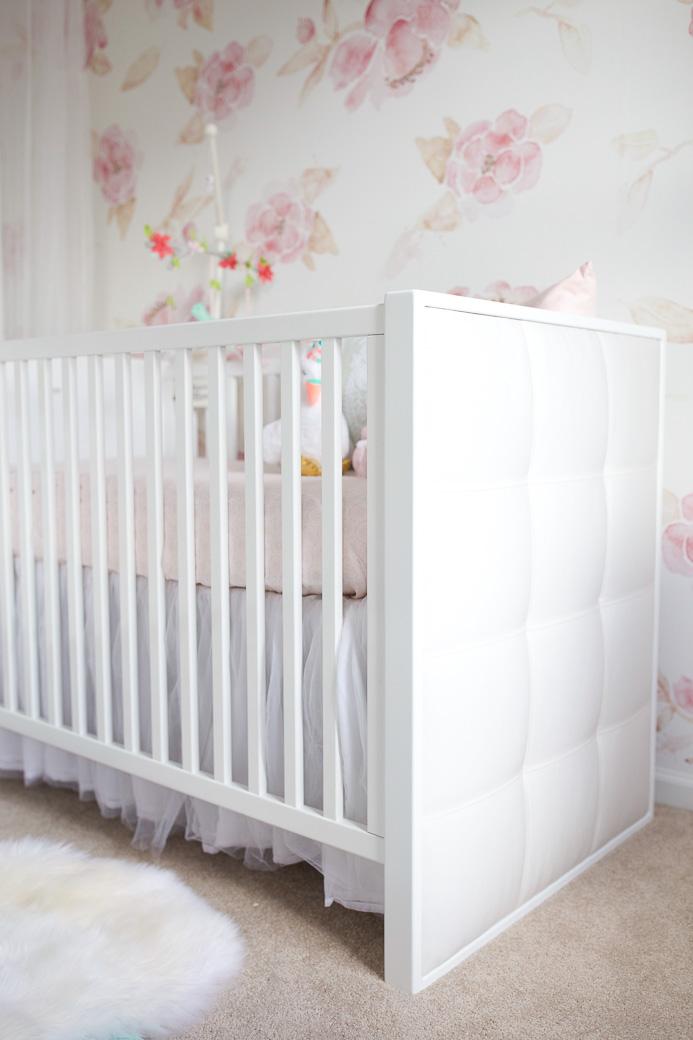 Floral Wallpaper Nursery