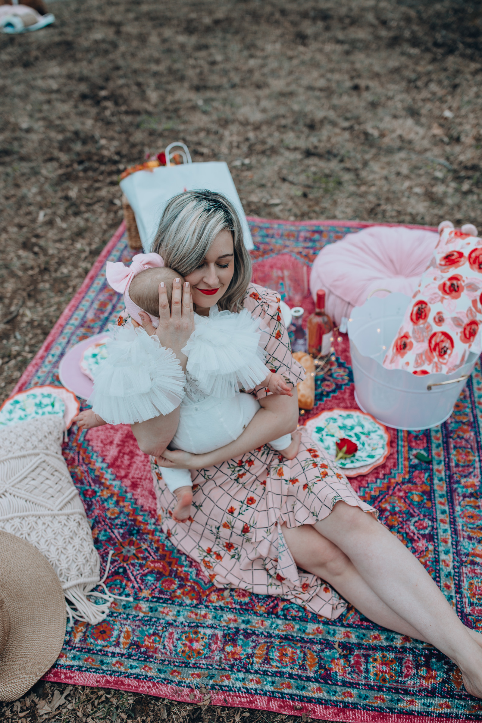 Happily Inspired Mothers Day Picnic