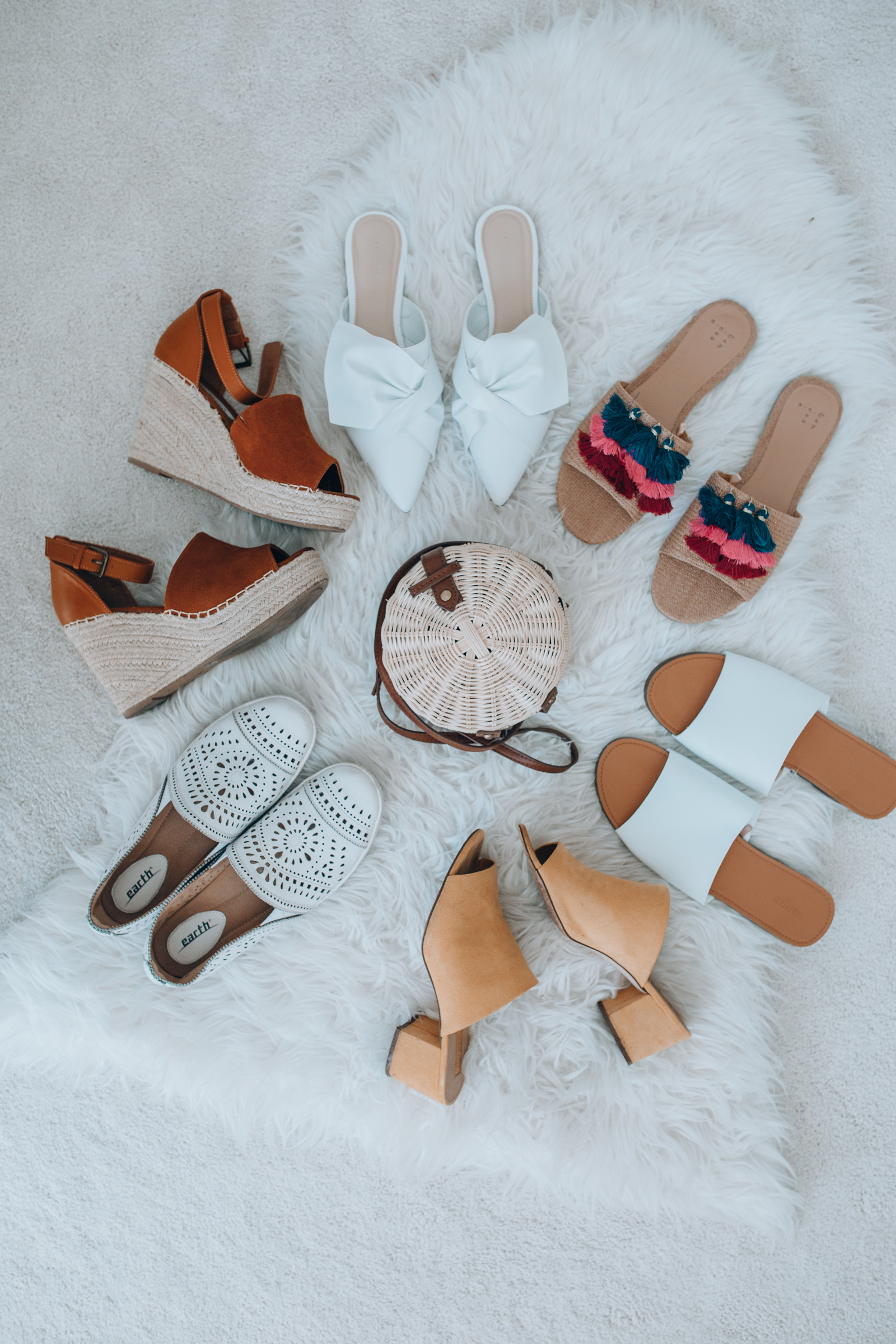 Chicago fashion blogger Happily Inspired is sharing the best spring and summer shoes at every budget! Espadrilles, sandals, sneakers and more. width=