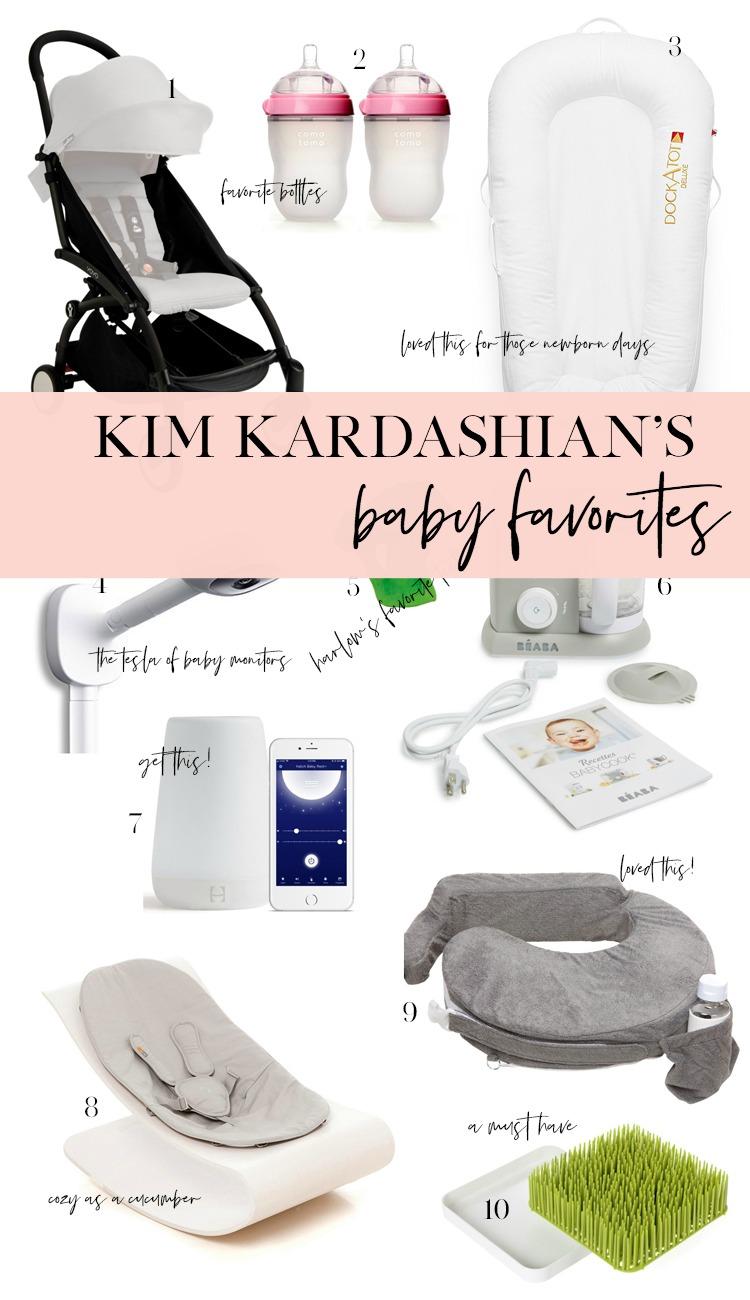 kim kardashian baby gear