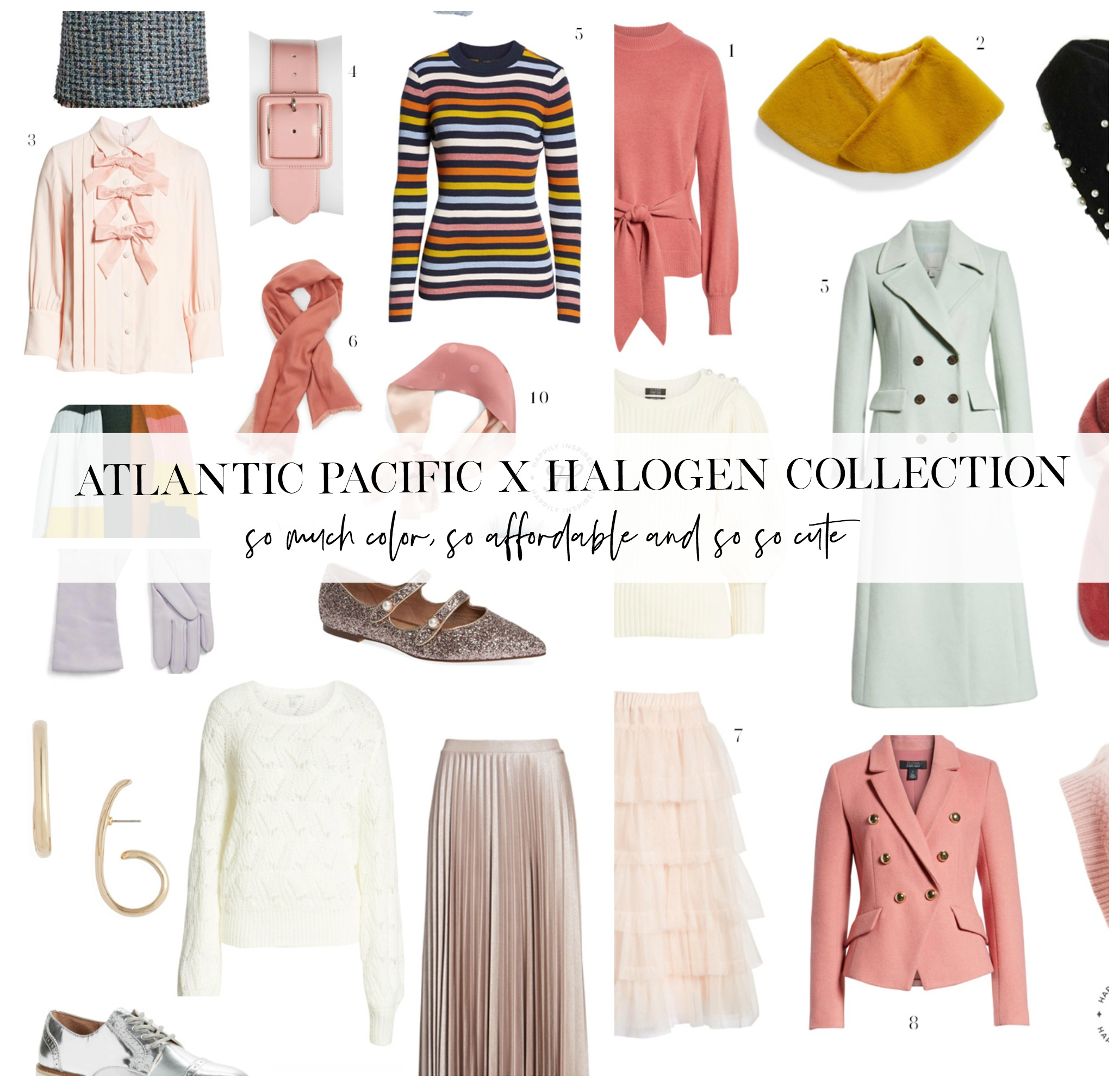 atlantic pacific halogen collection