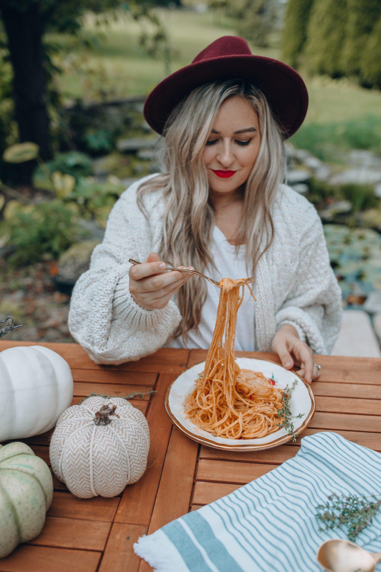 pumpin pasta sauce
