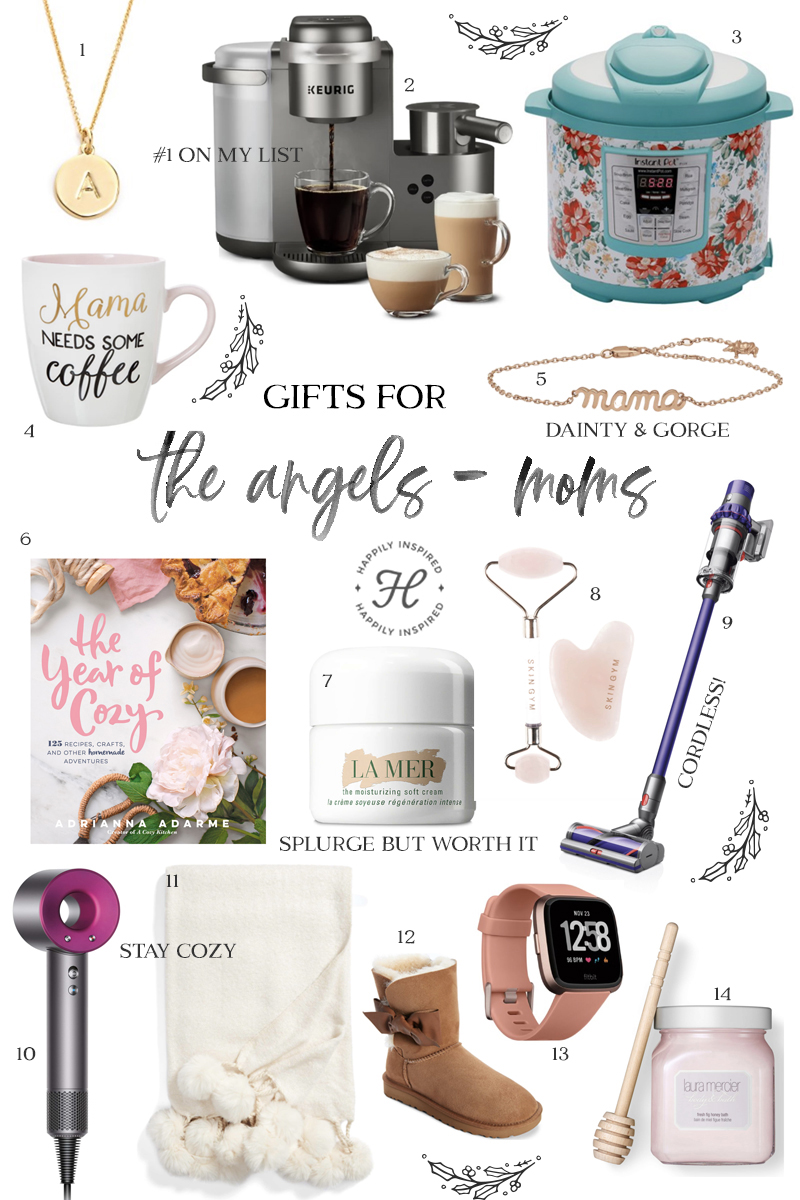 mom gift guide, mama gift ideas, christmas gift ideas, holiday gift guide 2018