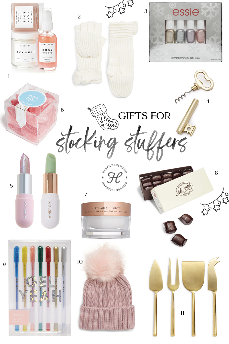 stocking stuffer gift ideas, christmas gift ideas, stocking stuffers