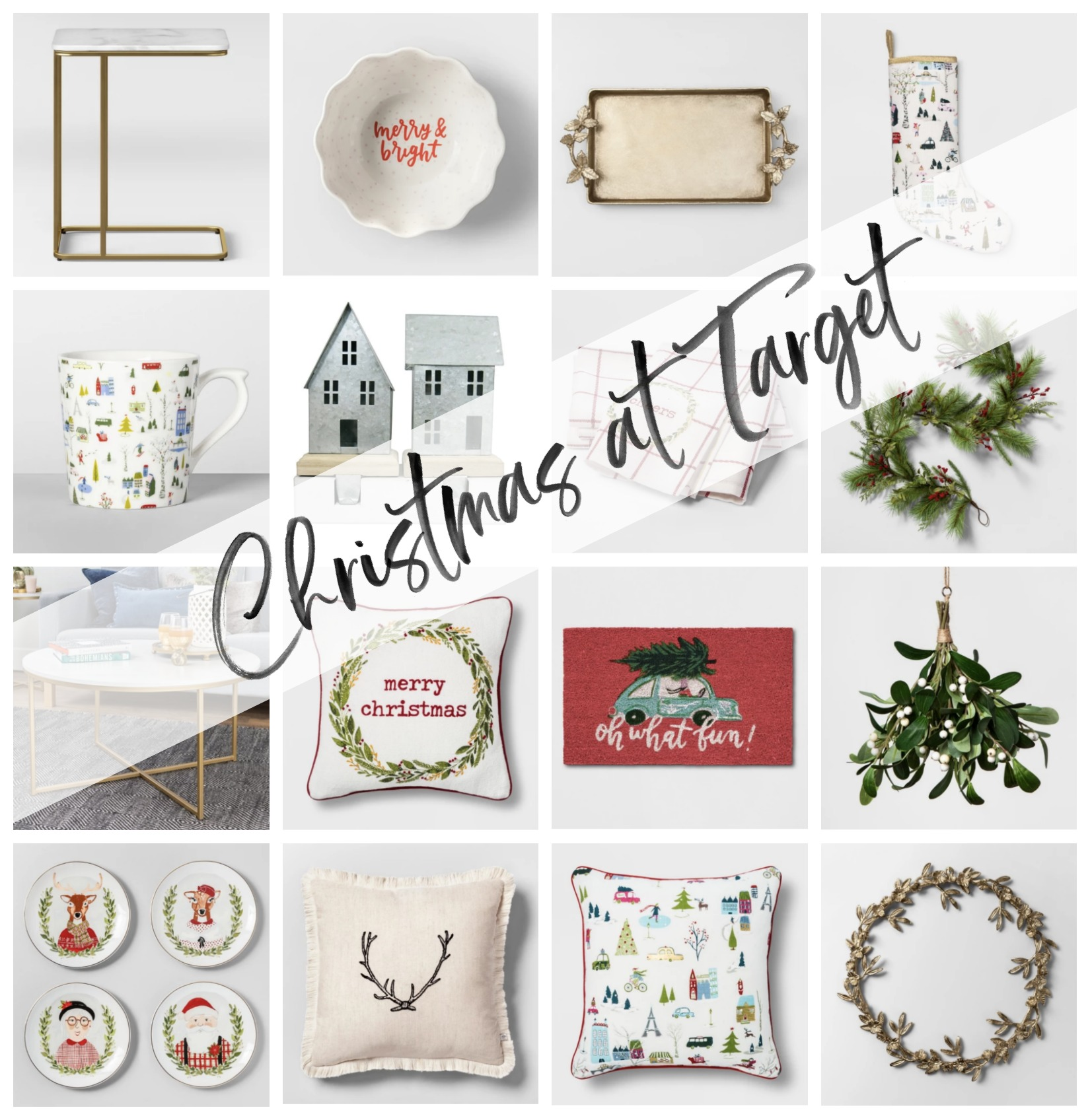 christmas decor, christmas decor ideas, target christmas