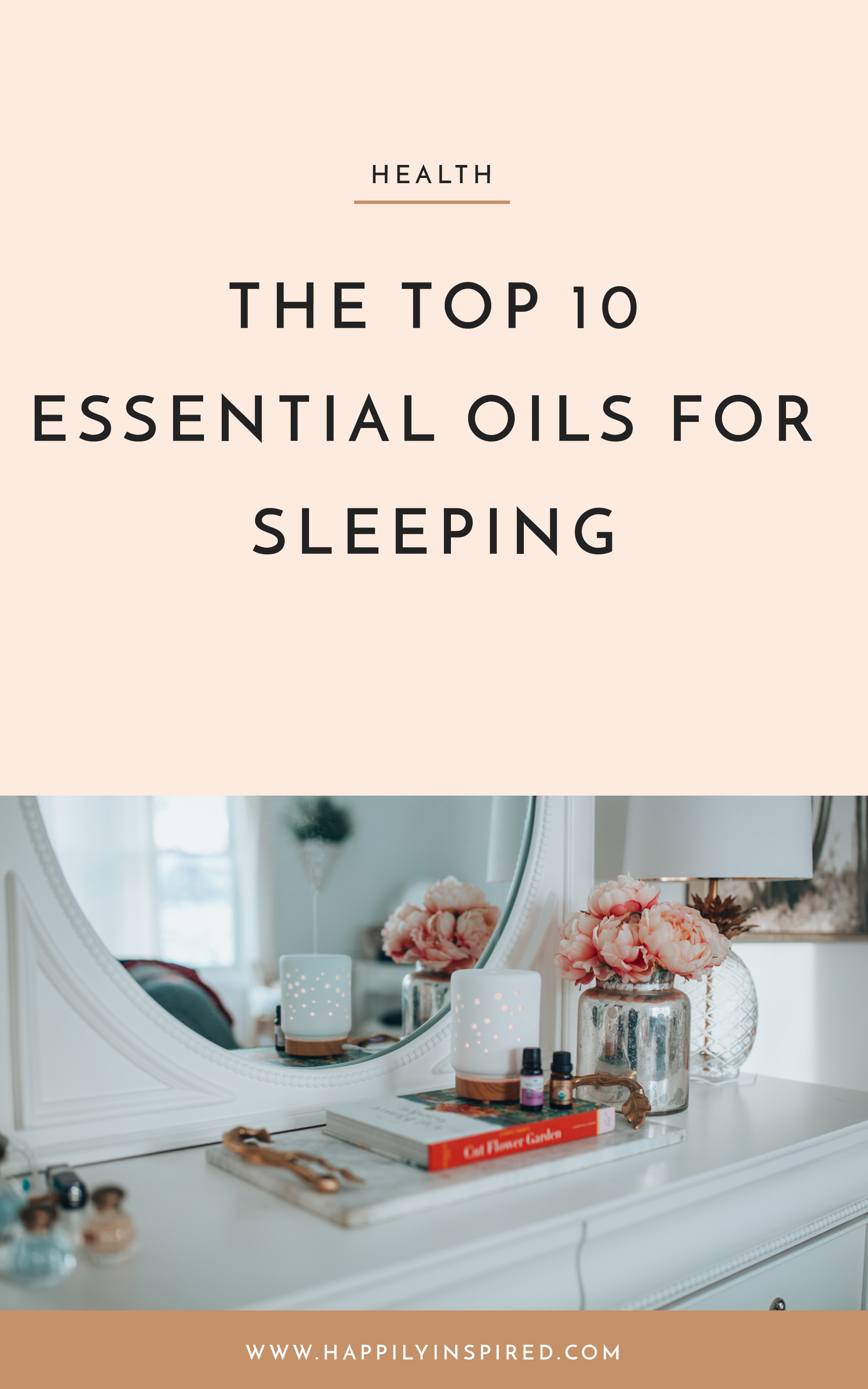 Are you looking for the best essential oils for sleep? In this post, I share my favorite essential oils for a good night's sleep!