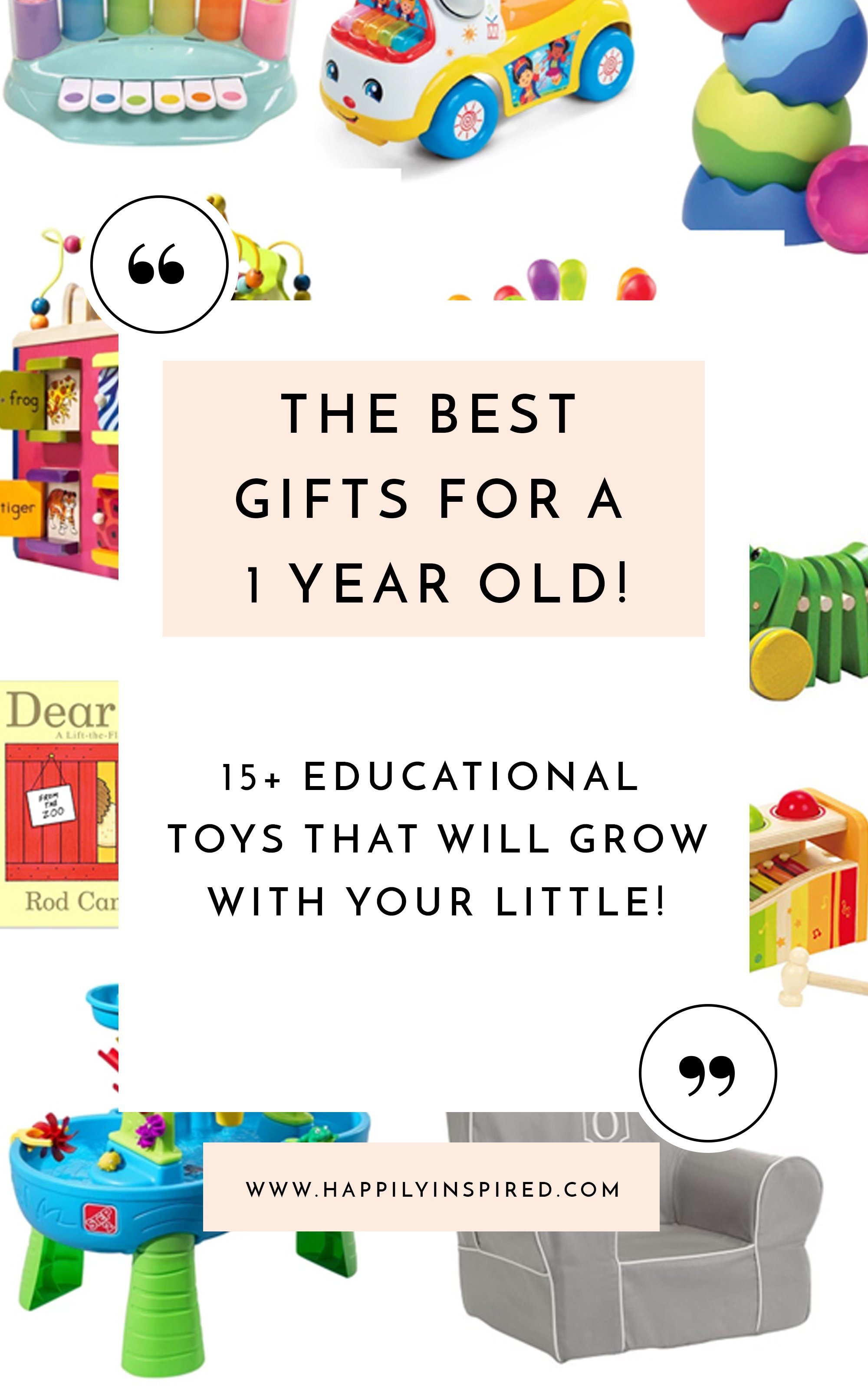 1 year old birthday gifts