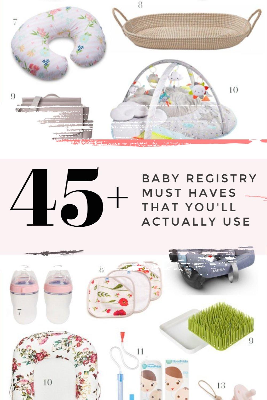 baby registry checklist for 2020
