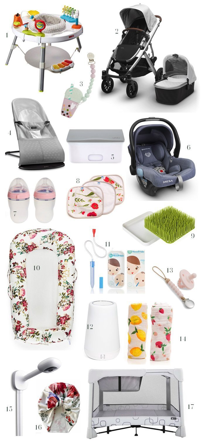 baby registry must haves, baby girl must haves, must have baby registry items, baby must haves