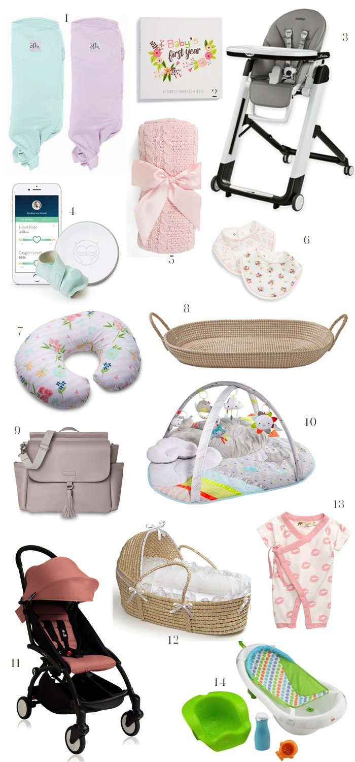 75 baby registry must haves including baby girl must haves!