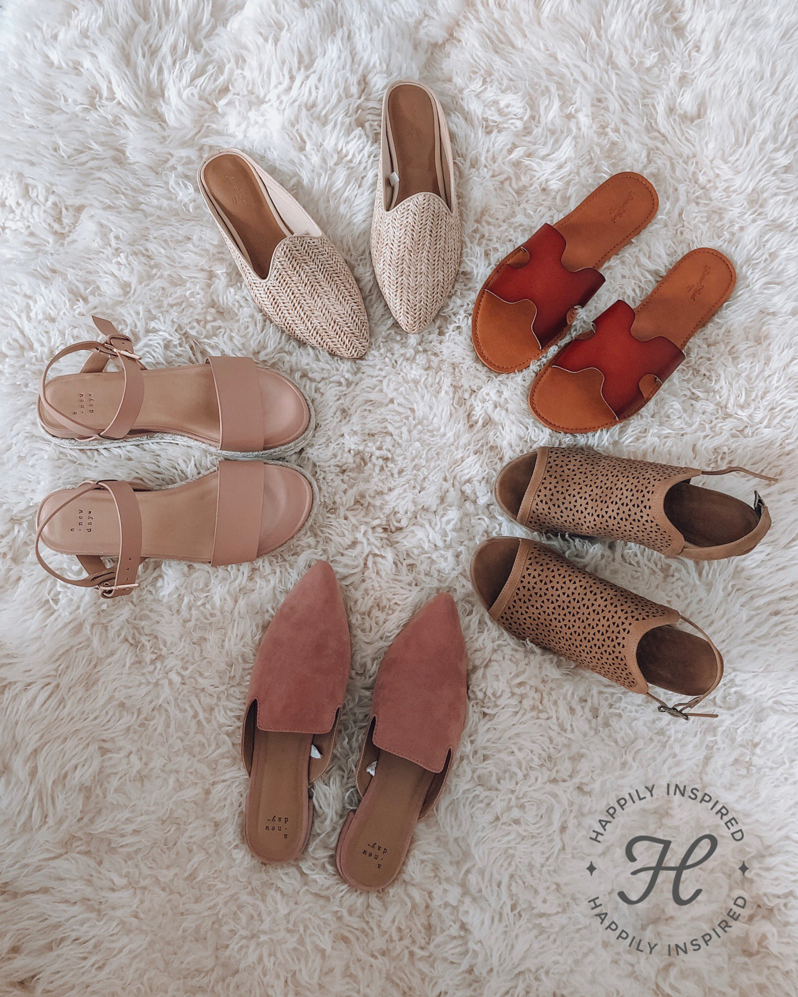 spring shoes, target shoes