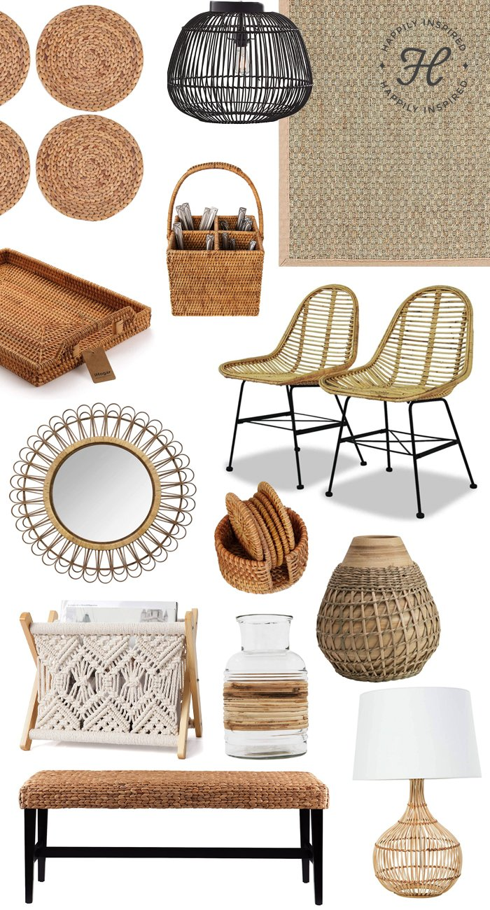 rattan decor, amazon rattan decor, best of amazon prime