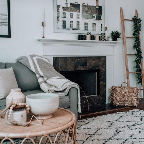 empty wall decor, living room decor ideas